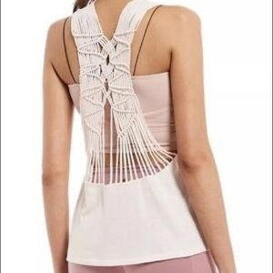 NEW Free People Wilder Strappy Open-Back Tank